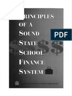 Principles of a Sound State School Finance System