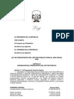 Proyecto_Ley_Presupuesto2009