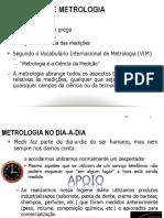 Modulo 1 - Metrologia