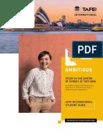 TAFE NSW 2019 International Student Guide Web