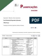 Planificação CIAAS 2019-2020