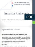 Impactos Ambientais Aula 1
