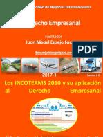 Los INCOTERMS 2010 y Su Aplicación Al Derecho Empresarial