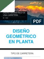 DISEÑO GEOMÉTRICO DE UNA CARRETERA.pptx