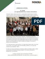 30-10-19 Otorga Gobernadora seguridad jurídica de sus viviendas a hermosillenses