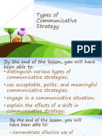 13 Communicative Strategies