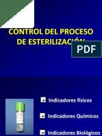 Control en el proceso de esterilización