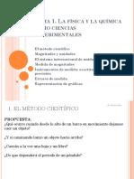 Tema 1. El método científico y magnitudes