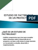 4.0 Estudios de Factibilidad