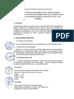 Convocatoria Cas 2019-01