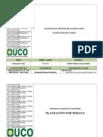 Plan de Clase 2 (Grado 4 y 5).