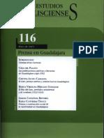 Las publicaciones satíricas y literarias de Guadalajara (siglo XIX)