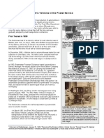 usps electric vehicles usage throughout history