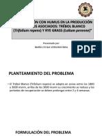 Fertilización Con Humus en La Producción De