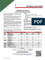 Matrix EP and TK TDS 2035