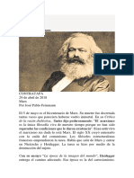 Marx Feinmann Convertido