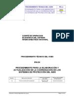 Propuesta de Procedimiento Para La Elaboración y Actualización de La Coordinación de Los Sistemas de Protección Del SEIN