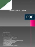 Codigo de Barra Diapositiva