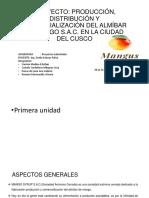 Proyecto de Almibar, FINAL