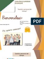 08 Diapositivas Gestion Del Tiempo