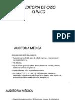 Auditoria de Caso Clinico