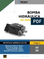 Bomba Hidráulica de Engranaje.