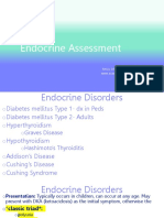 Assessment of Endocrine System Fall 2019