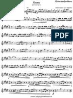 Hosana - Gabriela Rocha-partitura Sax Alto