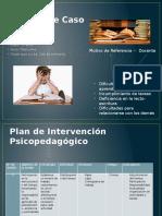 Plan de Intervencion Psicopedagogico