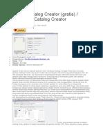 Unduh Catalog Creator