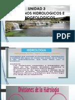 Semana 9,10,11,12 Fenómenos Geológicos e Hidrodinamicos