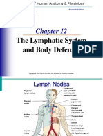 Chapter 12 Lymphatic System