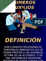 PRIMEROS AUXIOIOS