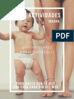 30 actividades en interiores para niños