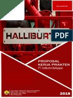 Proposal to Halliburton