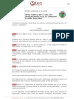 Lei Complementar 512 2016 Catas Altas MG