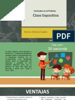 Técnicas y Dinámicas Grupales Centradas en El Profesor