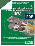 PROYECTO COMPLETO TEJA .Un Techo Que Cubre Al Mundo_ La Teja de MicroConcreto (TMC) - PDF