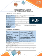 Guía de Actividades y Rúbrica de Evaluación - Paso 4 - Validación de La Idea de Negocio