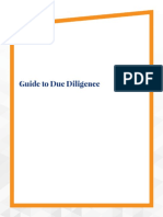 M&a Due Diligence Guide