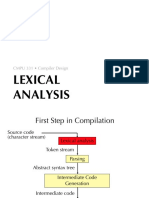 02 Lexical Analysis
