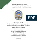 Proyecto Social (Area de Influencia)