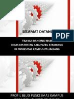 PROFIL PUSKESMAS KAMPUS, KAJI BANDING BLUD 2018.pptx