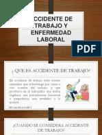 Accidente de Trabajo y Enfermedad Laboral