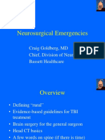 Goldberg Neurosurgical Emergencies