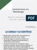 Taller breve Metodología Valero- Sánchez Espejel