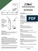 User Manual GFM925W 735N 925N