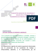 Conceptos Basicos de Seguridad y Salud en El Trabajo