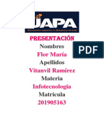 Tarea 6 Infotecnologia Flor Maria