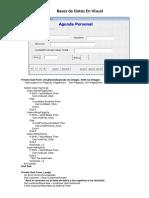 Bases de Datos en Visual